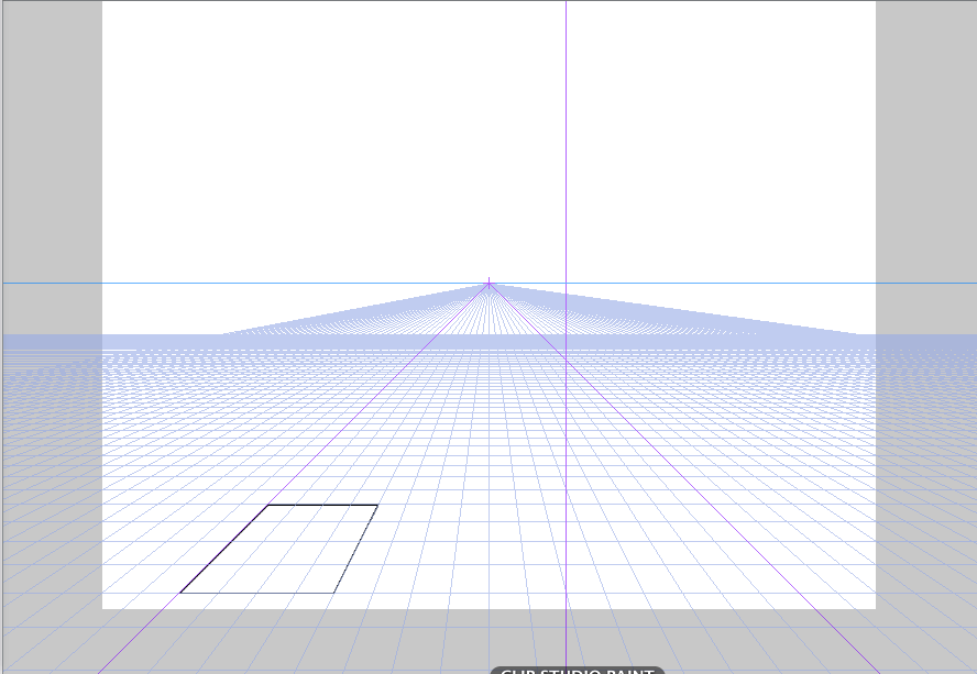 クリスタ 楕円 パース2