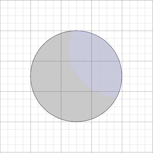 デジタルを使って球体と陰を描いてみる8