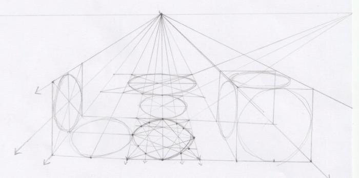 クリスタ 楕円 パース7