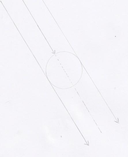 球体の陰影の描き方1