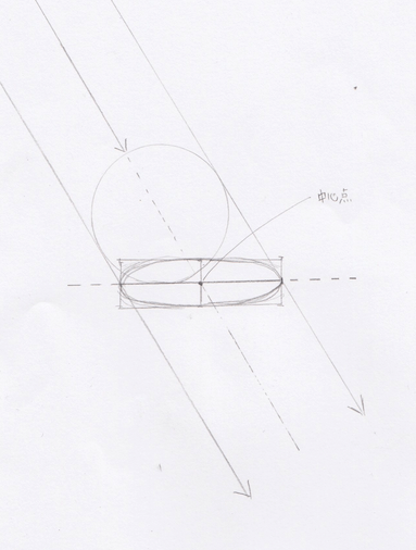 球体の陰影の描き方4