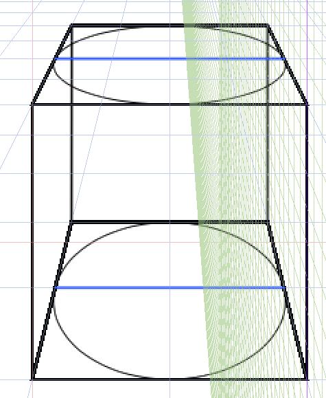 正楕円と台形4