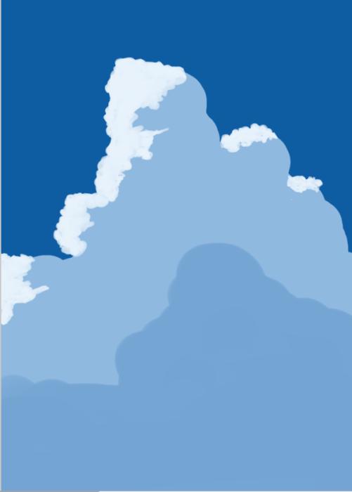 雲の描き方14