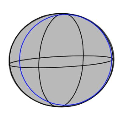 球体と立方体、描き方の実験6