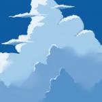 【クリスタ】【背景画】積乱雲の描き方について考察