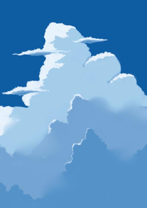 雲の描き方サムネイル
