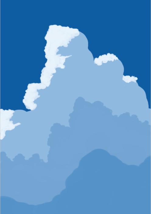 雲の描き方16
