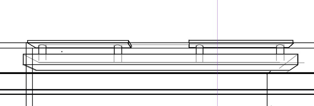 パースを使って教室を描く・一点透視図法77