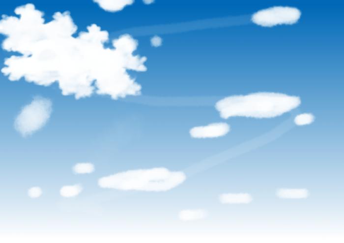 雲の基礎の描き方3