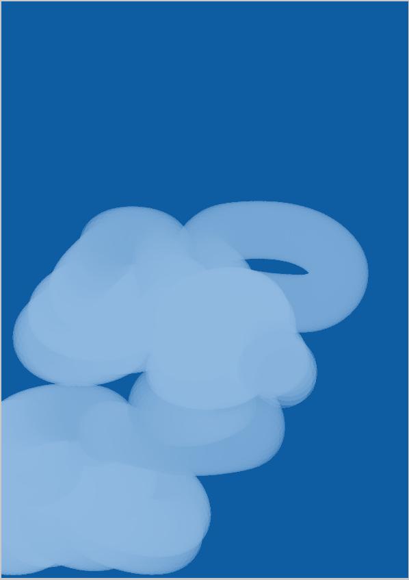 雲の描き方6