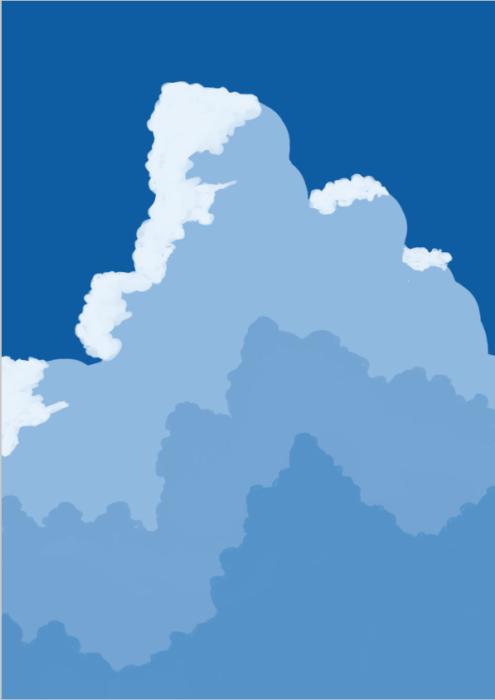 雲の描き方17