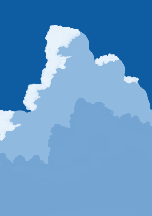 雲の描き方15