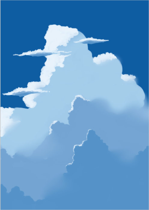 雲の描き方28