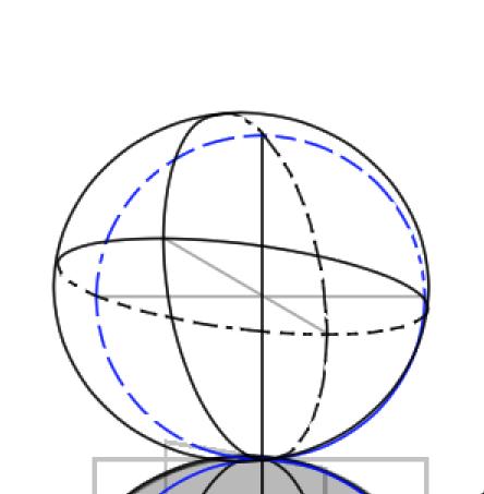 球体と立方体、描き方の実験11