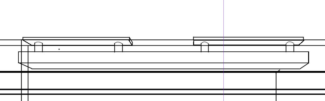 パースを使って教室を描く・一点透視図法78
