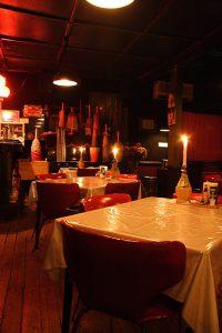 白熱灯と食卓