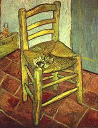 ファン・ゴッホの椅子だよん