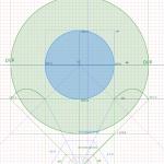 パースにおける視円錐とは何か?対角線の消失点とは何か?立方体はどう作るのか?