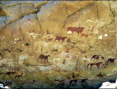 マンダ・ゲリ洞窟の壁画
