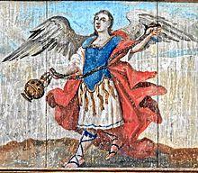 天使のイラストサラフィエル