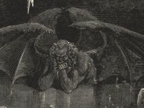 サタンの絵