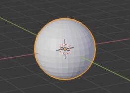 球体の出し方blender
