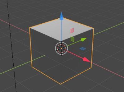 blender立方体の追加