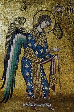 大天使ミカエルのイラスト