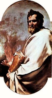 「エリヤ」(Elijah), 1638,ホセ・デ・リベーラ作