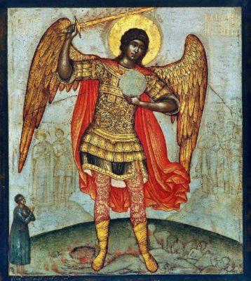 大天使ミハイルのイラスト