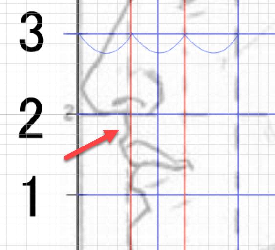 鼻の下の形状
