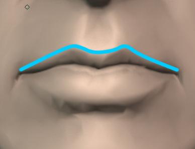 口の描き方・分析