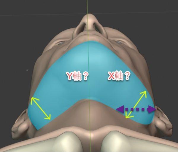 輪郭の描き方、分析