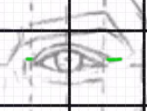 下瞼の描き方