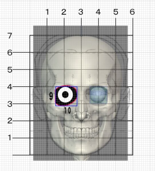 ルーミスの目の描き方分析