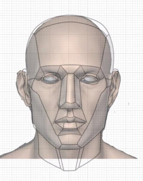 側頭線を探す