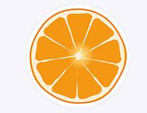 目のオレンジ性