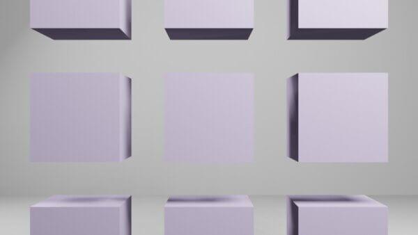 複数の立方体のケース